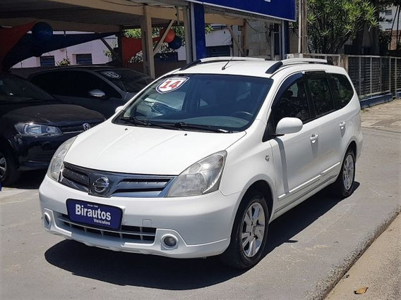 Nissan Grand Livina Sl 1.8 16v Flex, Entrada 4900, Ayo2119