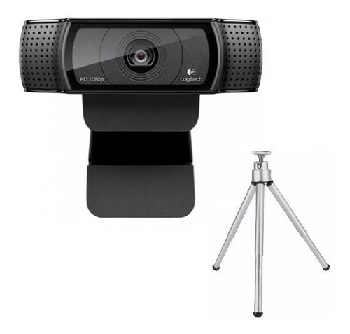 Webcam Logitech C922 Hd Pro Full Hd 1080p Tripé Stream Lives