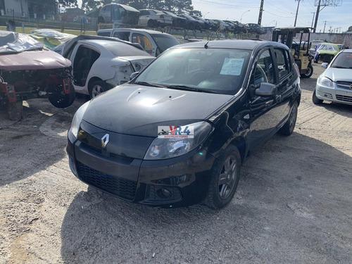 Renault Sandero 2012 1.0 Sucata Para Retirada De Peças