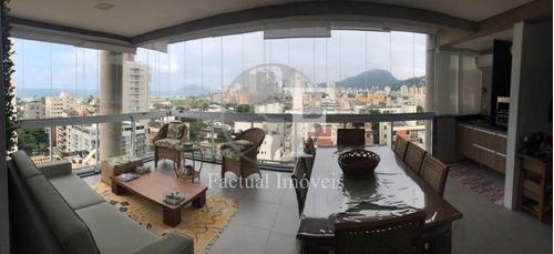 Apartamento Com 3 Dormitórios À Venda, 140 M² Por R$ 1.250.000 - Enseada - Guarujá/sp - Ap9370