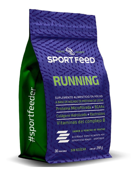 Sportfeed Running Proteina Whey Con Colágeno Hidrolizado