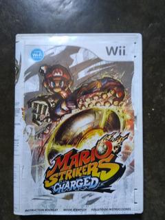 Nintendo Wii Mario Strikers Charged Juegos Wii