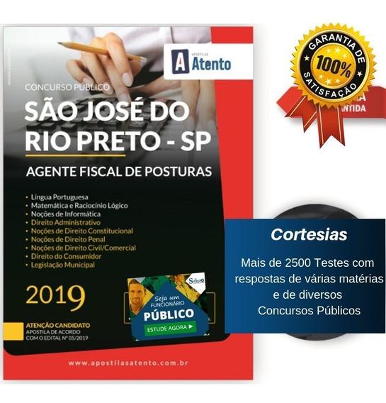 Apostila São José Rio Preto - Agente Fiscal De Posturas