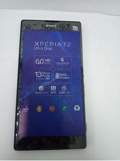 Celular Smartphone Sony Xperia T2 Ultra Dual Vitrine Preto