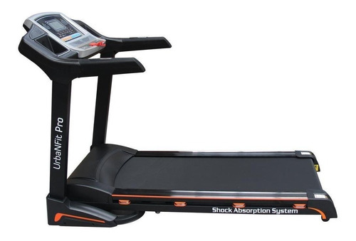 Cinta de correr eléctrica UrbanFit Pro UFDECA02 110V negra