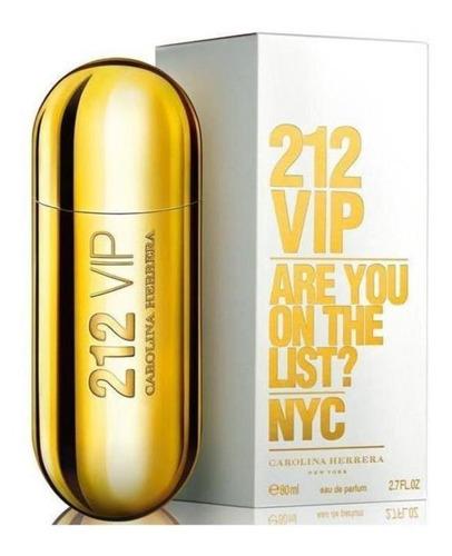 Imagen 1 de 1 de 212 Vip Carolina Herrera Edp 80ml Dama Perfume Goldenstar