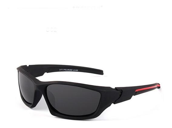 Óculos De Sol Aviador Polarizado Com Uva Uvb Masculino