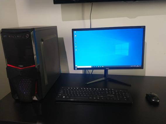 Computador Pc Para Jogos E Edição Com I5 6600 E 240gb Ssd