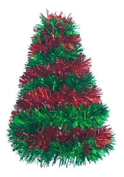 Árbol Navidad Metalizado 20 Cm #348