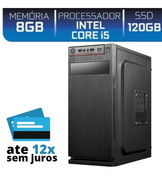 Cpu I5+8gb+ssd 120gb Wi-fi Em Ate 12x Super Desempenho