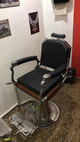 Cadeira Barbeiro Retro Ferrante