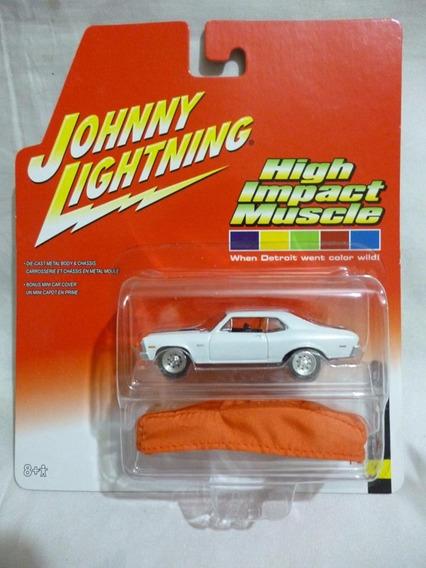 Johnny Lightning 1970 Chevy Nova Ss White - J P Cars