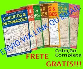 Coleção Revista Circuitos E Informações 7 Volumes Eletrônica