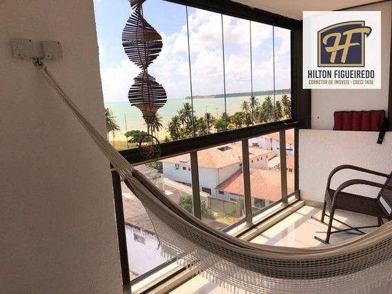 Cobertura Com 3 Dormitórios Para Alugar, 133 M² Por R$ 5.000/mês - Cabo Branco - João Pessoa/pb - Co0075