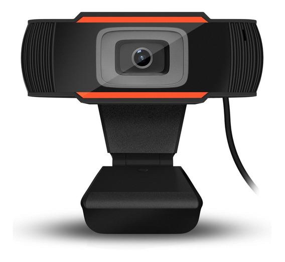 Câmara Usb 720p Webcam Computador Com Microfone Para Viver