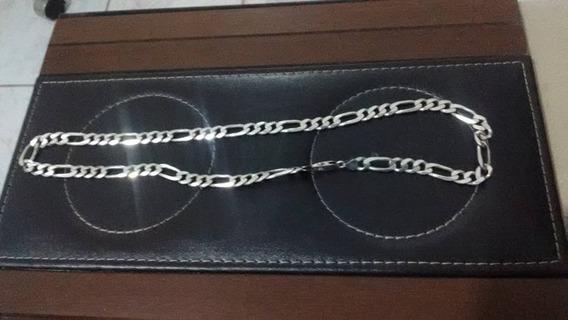 Corrente Cordão 3x1 5mm X 580,5mm Prata 925 Italiana