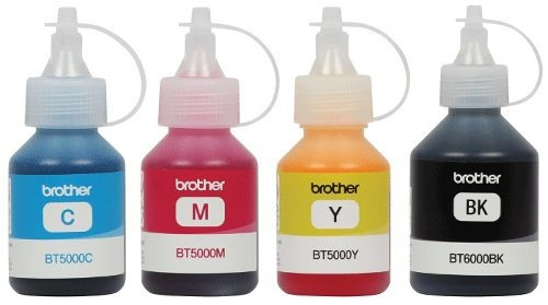 Combo Botellas De Tinta Brother 5001 6001 Negro + Colores