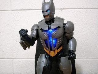 Figura Batman Armadura De Poder Mattel