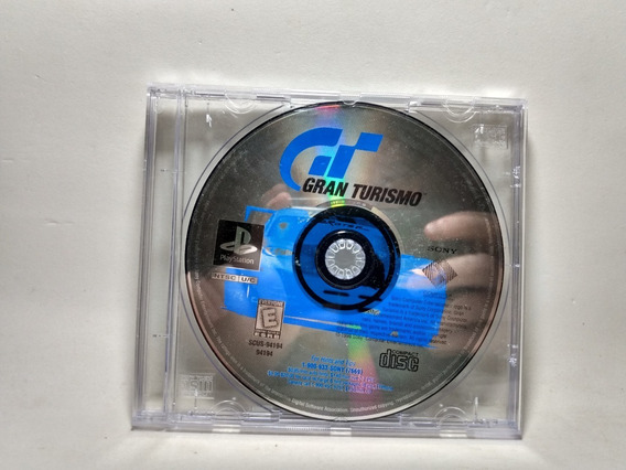 Gran Turismo 1 - Somente O Cd - Ps1 - Original Americano