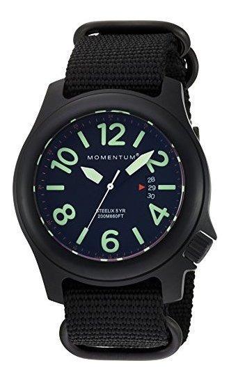 ¿hombres? Reloj Deportivo S Steelix Nylon Adventure Watch By
