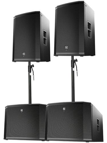 Sistema De Bocinas Amplificadas Ev Etx Electro Voice