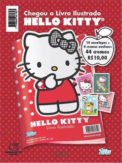 Combo Figurinhas Hello Kitty - 10 Envelopes