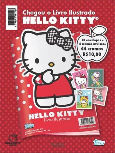 Combo Figurinhas Hello Kitty - 10 Envelopes