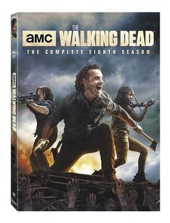 The Walking Dead Temporada 8 6 Dvd Original Nuevo Stock