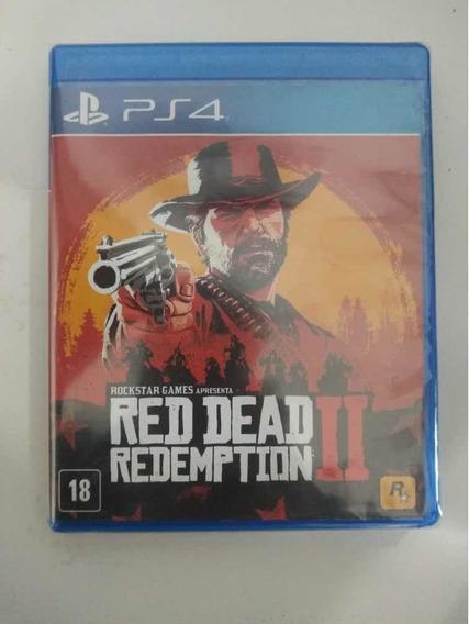 Red Dead Redemption 2 Ps4 Mídia Fisica Relacrado Com Mapa