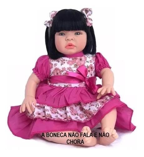 Boneca Tipo Bebe Reborn Barato Sid-nyl