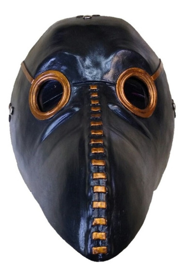Mascara Doctor Peste Plaga Negra Steampunk Pico Largo Pajaro