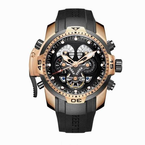 Reloj Reef Tiger Complicated Automático Hombre 46mm Rga3503