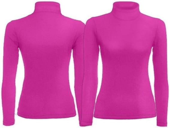 Kit 4 Camisa Feminina Gola Alta Todas Uv 50 + Nota Fiscal