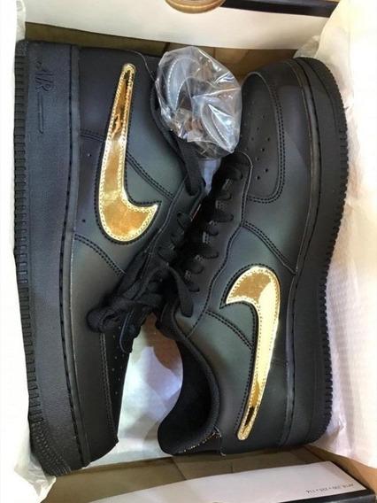 Air Force 1 Swoosh Pack Black