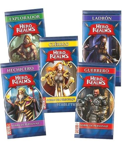 Imagen 1 de 6 de Hero Realms Personajes Sobres Pack Devir Español Scarletkids