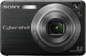 Camera Digital Sony Cyber Shot Usada / Sem Bateria / Preta
