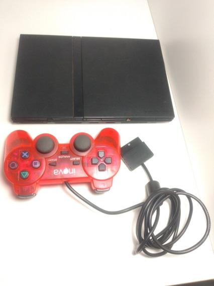 Playstation 2, Slim, Usado + Brindes