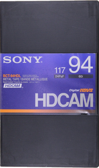 Fita Digital Hdvs Hdcam Sony Bct-94hdl