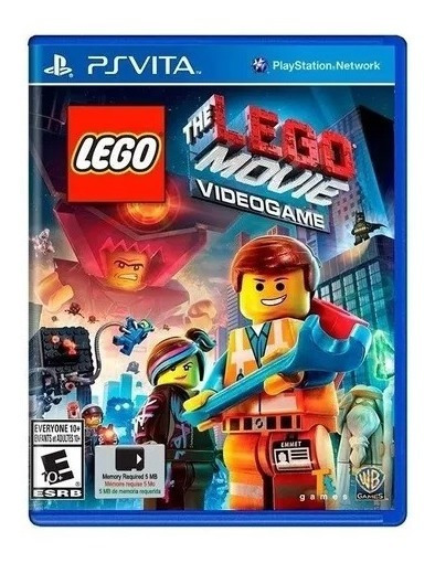 The Lego Movie Videogame Ps Vita Novo Lacrado.
