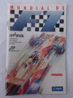 Mundial De F1 Nº 4 - Gp Brasil - Interlagos - 1993 - Senna