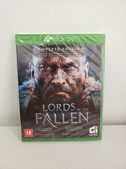 Jogo Xbox One - Lords Of The Fallen Complete Edition - Novo