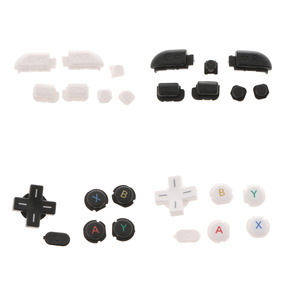 2 Pieces Abxy Home Cross Key Button Set For Nintendo New 3ds