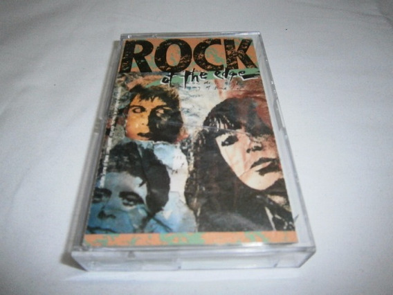 Varios · Rock At The Edge · Cassette Import Punk Rock