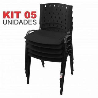Cadeira Iso Fixa Singolare Preta