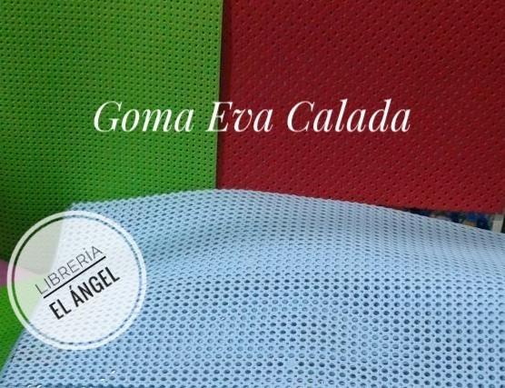 Plancha Goma Eva Calada Grande Pliegos 60x40