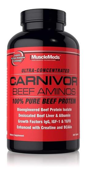 Carnivor Beef Aminos 300 Tabletas Musclemeds Oferta!