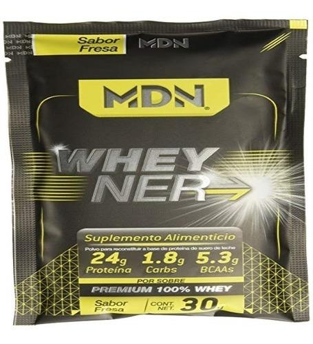 Proteina Whey Ner Mdn 40 Sobres (4 Sabores) Envio Full