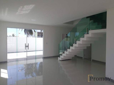Confira! Belíssima Casa No Condomínio Fragatta - Ca0429