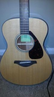 Yamaha Fs800 Guitarra Acústica (nueva), Cómoda, Rango Medio