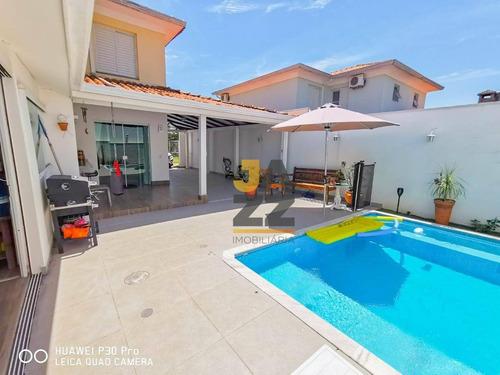 Casa Com 3 Dormitórios À Venda, 137 M² Por R$ 640.000,00 - Villa Flora - Sumaré/sp - Ca13368